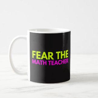 Frukta Mathlärare - mugg för undervisningkaffeTea