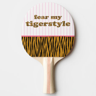 Frukta min Tigerstyle | Tigerprint ping-Pong Pingisracket