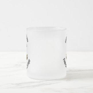 Frukta mustaschmuggen frostad glas mugg