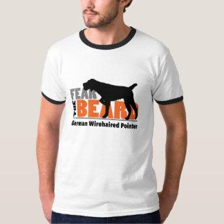 Frukta skägget - tysk Wirehaired pekare Tee Shirts