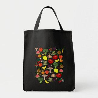 Frukter & Veggies hänger lös - välj stil & färga Tygkasse