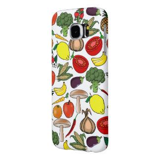 Frukter & Veggies ringer cases Samsung Galaxy S6 Fodral