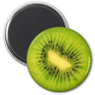 Fruktmagnetserie - kiwi kylskåpsnagnet