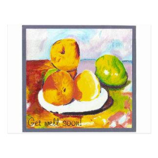 Fruktmålningar Vykort