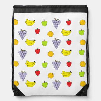 Fruktmönster Gympapåse