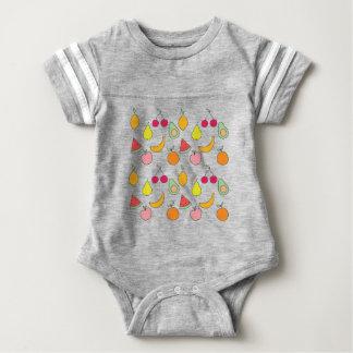 fruktmönster t-shirts