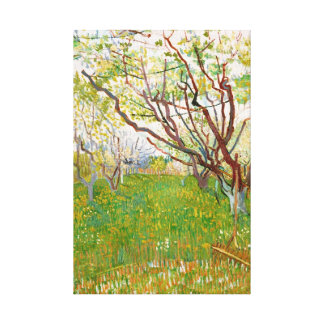 Fruktträdgård i blomVincent Van Gogh konst Canvastryck