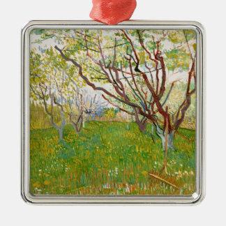 Fruktträdgård i blomVincent Van Gogh konst Julgransprydnad Metall