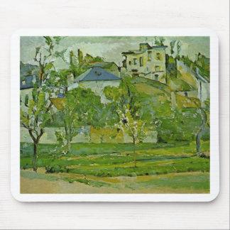 Fruktträdgård i Pontoise av Paul Cezanne Musmatta