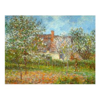 Fruktträdgård i vår av Gustave Loiseau Vykort