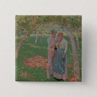 Fruktträdgården Standard Kanpp Fyrkantig 5.1 Cm
