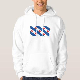 Fryslân Frisianflagga Tröja Med Luva