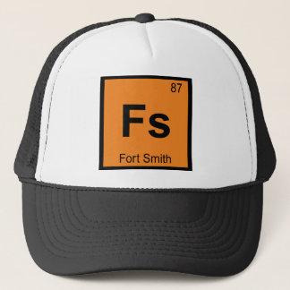 Fs - Periodiskt bord för Fort Smith stadskemi Keps
