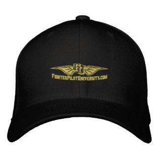 FU-hatten med appell undertecknar på baksidaen Broderad Keps