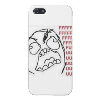 FU-ursinnetecknad iPhone 5 Skydd