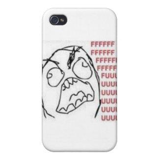 FU-ursinnetecknad iPhone 4 Hud