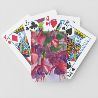 Fuchsia frenesi spelkort
