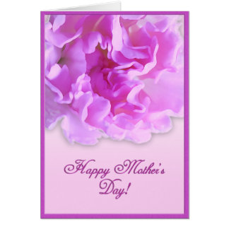 Fuchsia mors dagnejlikakort hälsningskort