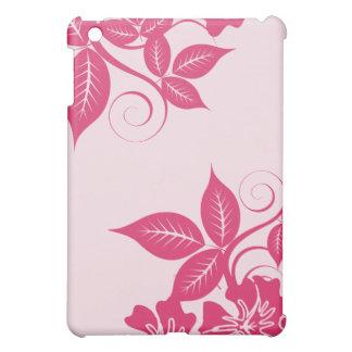 Fuchsia öblommigt iPad mini mobil skydd