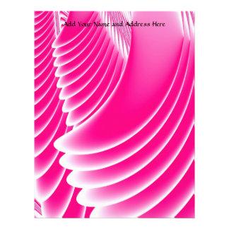 Fuchsia rosa ängel vingarFractal Brevhuvud