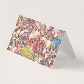 Fuchsias i blomkort kort