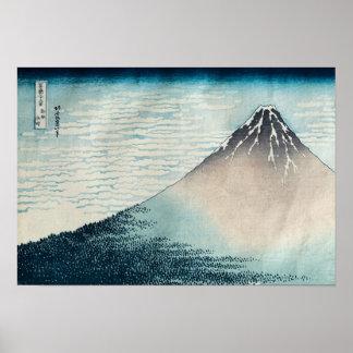 Fuji i klara Weather Poster