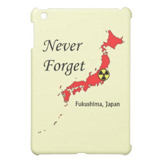 Fukushima Japan kärn- katastrof iPad Mini Mobil Skal