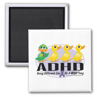 Ful Duckling för ADHD Kylskåpsnagnet