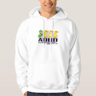 Ful Duckling för ADHD Sweatshirt Med Luva