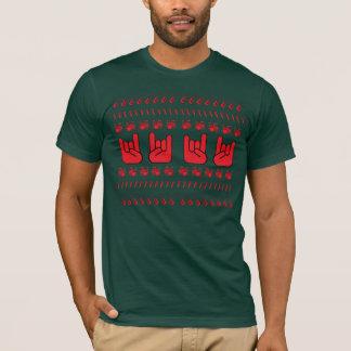 Ful heavy metalhelgdagskjorta t shirt