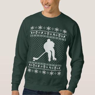 Ful hockeyjultröja långärmad tröja