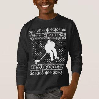 Ful hockeyjultröja t-shirt
