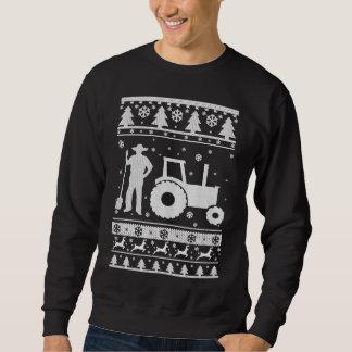 Ful jultröja för bonde lång ärmad tröja