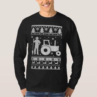 Ful jultröja för bonde t shirts