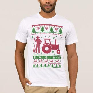 Ful jultröja för bonde tee