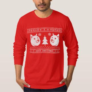 Ful jultröja för Doge Tshirts