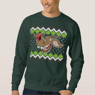 Ful jultröja för ful ren lång ärmad tröja