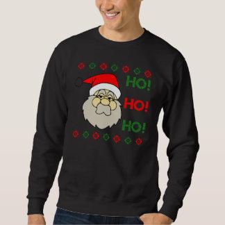 Ful jultröja för jultomten Ho Ho Ho Långärmad Tröja