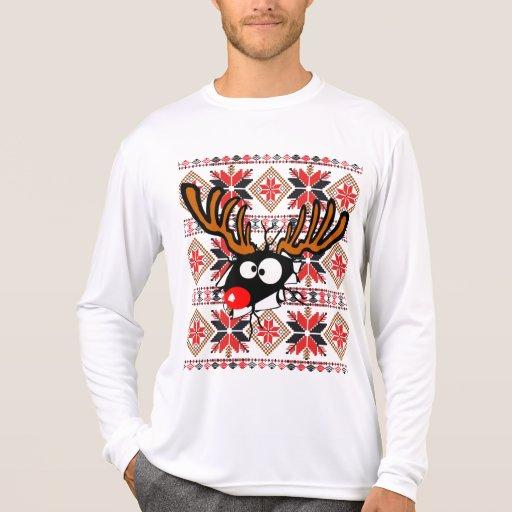 Ful jultröja som igenom slår sönder tröjor
