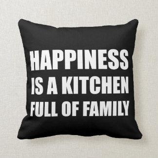Full familj för lyckakök kuddar