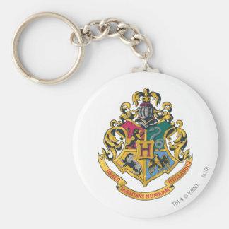 Full färg för Hogwarts vapensköld Nyckel Ring