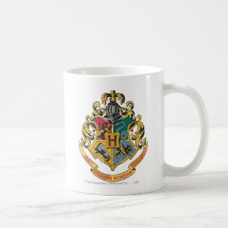 Full färg för Hogwarts vapensköld Vit Mugg
