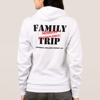 Fulländad familjresabeskickning tee shirt