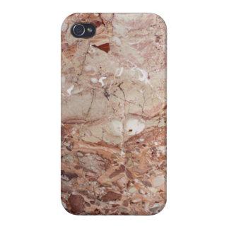 Fullföljande för Burgundy Crimson Stoney iPhone 4 Skal
