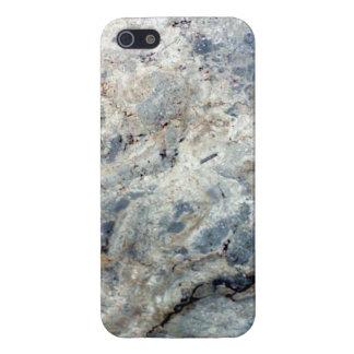 Fullföljande för sten för marmor för isblåttvit iPhone 5 skal
