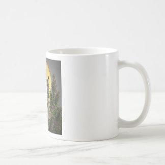 fullmåne för nattuggla kaffemugg