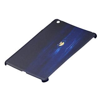 Fullmåne i midnatta blått iPad mini mobil fodral