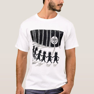 Fullmåne och katter, Louis Wain Tee Shirt