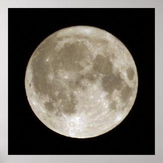 Fullmåne Poster