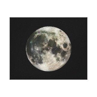 Fullmånefotografi Canvastryck
